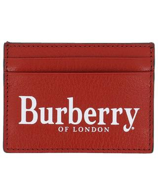 Grained leather card-holder BURBERRY