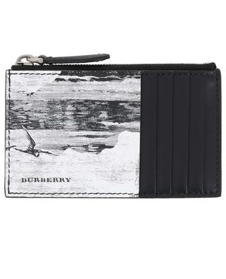 Sandon Dreamscape printed leather card holder BURBERRY