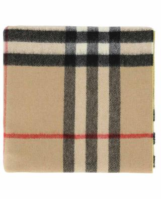 Giant Check reversible scarf BURBERRY