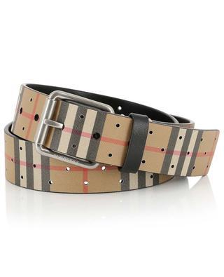 Leather belt BURBERRY