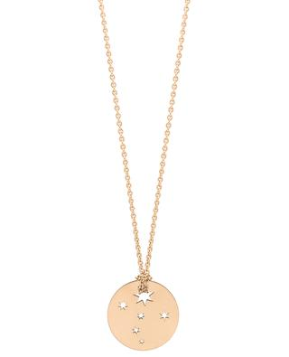 Milky Way pink gold necklace GINETTE NY