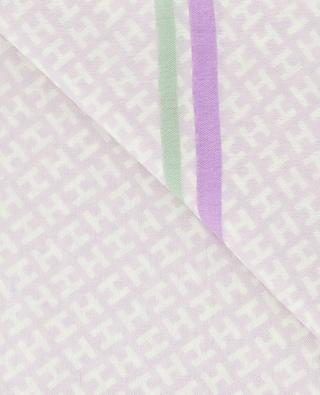 Écharpe motif H et cadre Radestripe HEMISPHERE