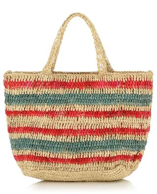 Petit sac à main en raphia tricolore VANESSA BRUNO