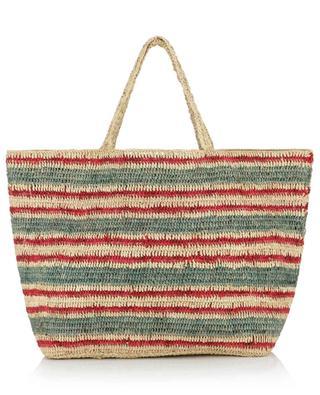 Shopping-Tasche aus dreifarbigem Raphia VANESSA BRUNO