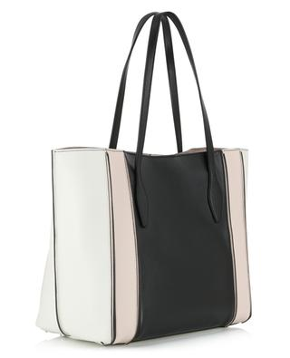 Tricolour smooth leather tote bag TOD'S