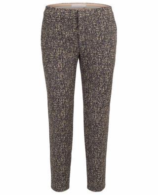 Pantalon imprimé à pinces raccourci CHLOE