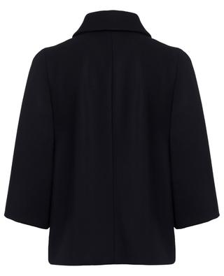 Wool blend cape FAY