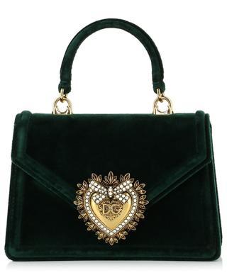 Kleine Handtasche aus Samt Devotion DOLCE & GABBANA
