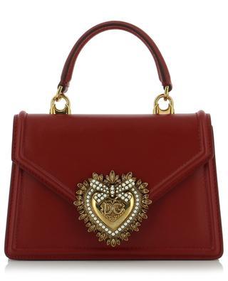 Micro-sac en cuir logo coeur Devotion Small DOLCE & GABBANA