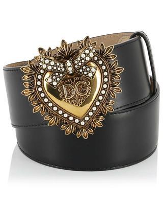 Devotion leather belt DOLCE & GABBANA