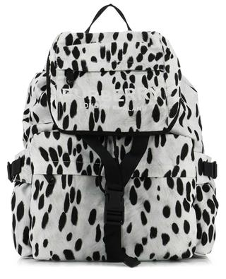 Wilfin dalmatian print nylon backpack BURBERRY