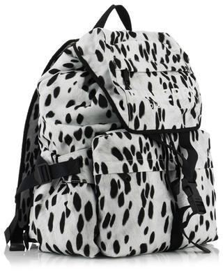 Wilfin dalmatian print nylon backpack BURBERRY