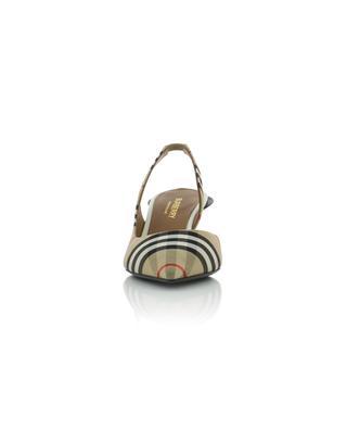 Escarpins à bride arrière Vintage Check Leticia 55 BURBERRY