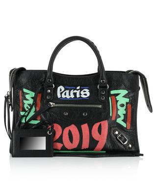 Classic City S Graffiti arena leather bag BALENCIAGA