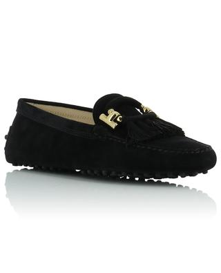 Gommino fringed suede loafers TOD'S