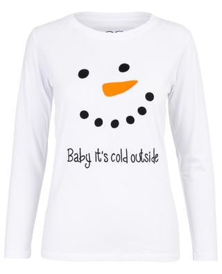 Langarm-T-Shirt Baby Its Cold Outside QUANTUM COURAGE