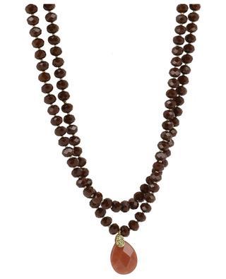 Halskette aus Halbedelsteinen MOON C° PARIS