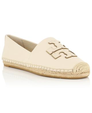 Ines monogrammed leather espadrilles TORY BURCH