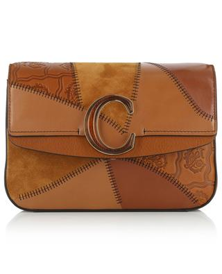 Chloé C leather patchwork crossbody bag CHLOE