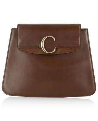 Chloé C leather flat bag CHLOE