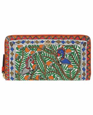 Grand portefeuille imprimé Robinson Something Wild TORY BURCH