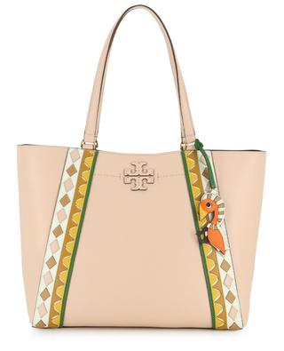 McGraw grained leather tote bag TORY BURCH