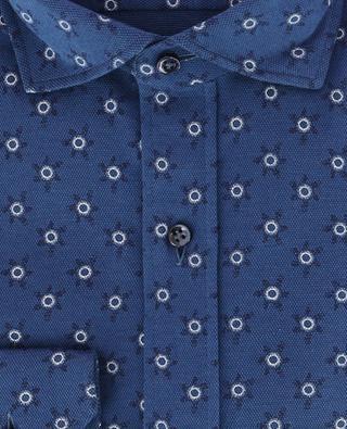 Chemise en coton piqué motif soleil Relax GIAMPAOLO