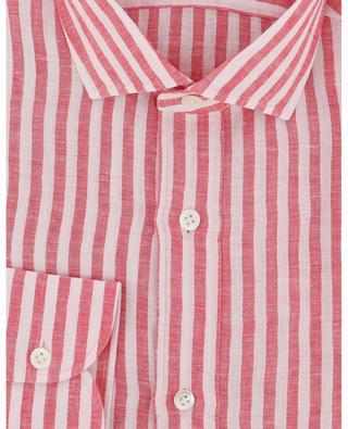 Gestreiftes Hemd aus Leinen GIAMPAOLO