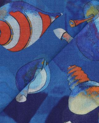 Leichter Schal mit Kreiselmotiv Tops 19 ANDREA'S 47