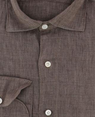 Hemd aus Leinen Luigi FINAMORE