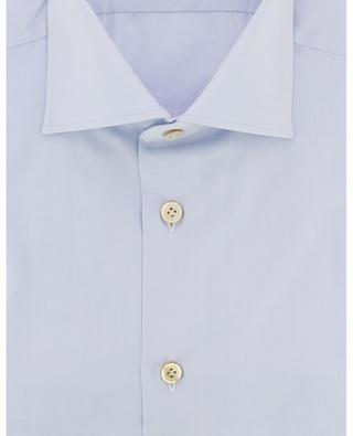 Einfarbiges Baumwollhemd KITON