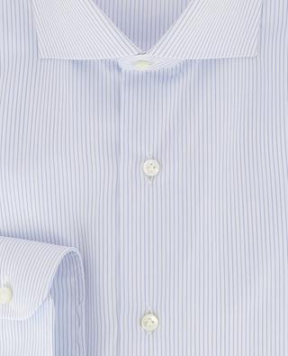 Striped slim fit cotton shirt BARBA