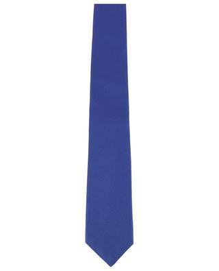 Cravate en soie texturée KITON