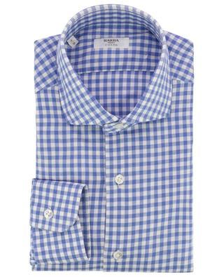 Culto gingham check shirt BARBA
