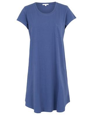 Oksana jersey night shirt with pocket SKIN