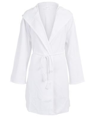 Charlotte waffle texture cotton bathrobe SKIN
