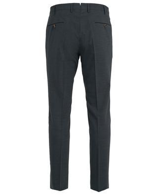 Pantalon slim en laine mélangée Super Slim Fit PT01