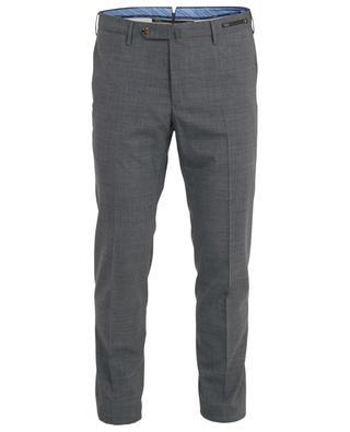 Super Slim Fit Hose aus Wollmischgewebe PT01