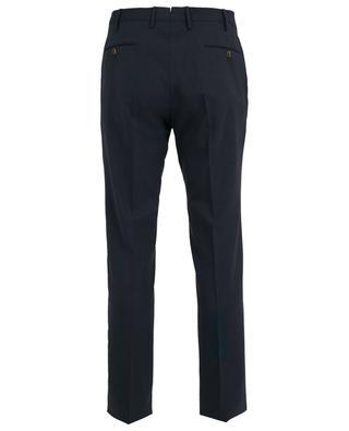 Pantalon slim en laine mélangée PT01