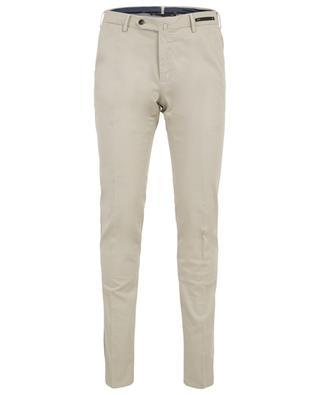 Slim-Fit Hose aus Baumwollstretch PT01