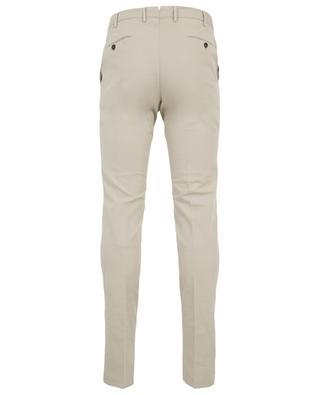 Slim fit stretch cotton trousers PT01