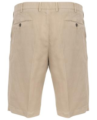Lyocell, linen and cotton Bermuda shorts PT01