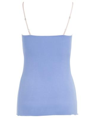 Lisa modal blend lace adorned camisole BLUE LEMON