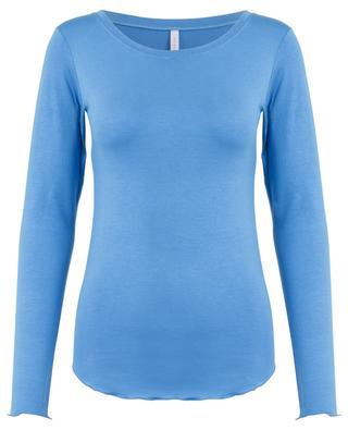 T-shirt à manches longues col bateau BLUE LEMON