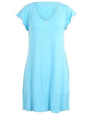 Chemise de nuit sans manches en modal Angels Nighty BLUE LEMON