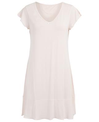 Angels modal sleeveless night shirt BLUE LEMON