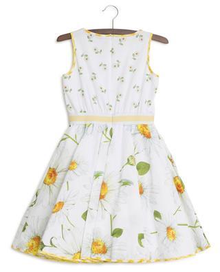 Daisy print sleeveless dress MONNALISA