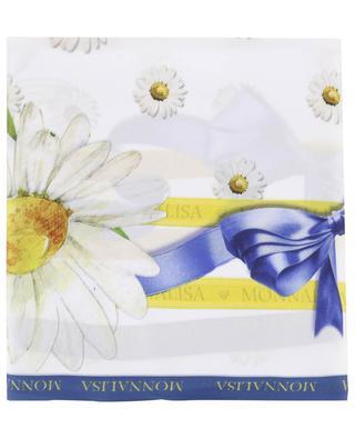 Daisy print shawl MONNALISA