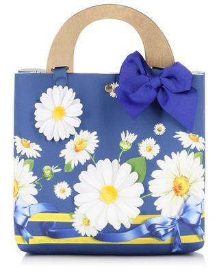 Daisy mini fabric tote bag MONNALISA