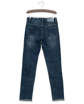 Margeriten-bestickte Jeans MONNALISA